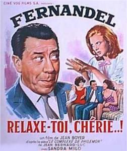 Relaxe-toi chérie affiche