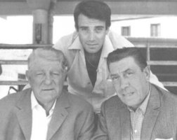Jean Gabin et les Fernandel