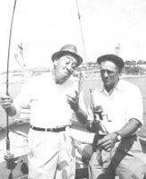 à la pêche avec monsieur Zé!